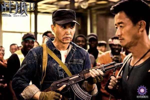 """《战狼2》播出5天突破10亿票房!吴京""""不要命""""精神,诠释中国-军人的强大"""