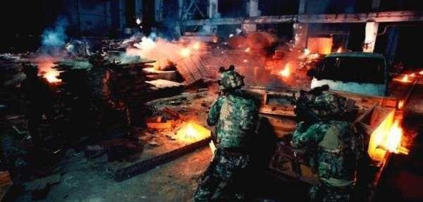 「专访」《反恐特战队之猎影》中尤小刚上天入地的本事全使了