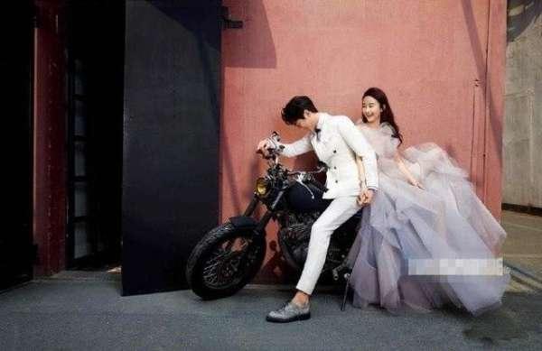 楚乔传领更新和赵丽颖拍婚纱照是怎么回事 星�h夫妇颜高人美甜虐人